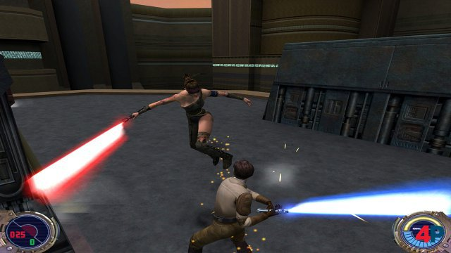 Screenshot - Star Wars: Jedi Knight II - Jedi Outcast (Switch)