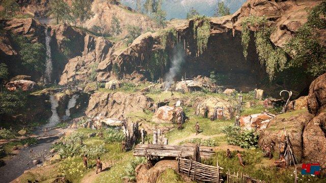 Im Verlauf des Abenteuers wird Takkars neues Zuhause immer größer.