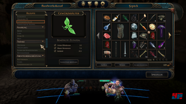 Screenshot - The Bard's Tale 4: Barrows Deep (PC) 92574204