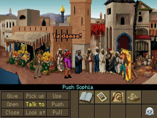 Screenshot - Indiana Jones and the Fate of Atlantis (PC) 2283567