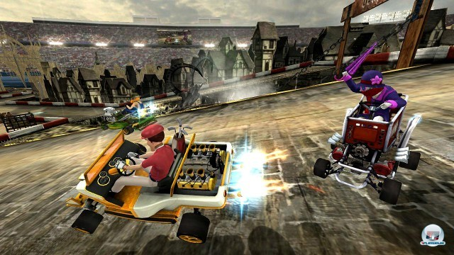 Screenshot - Jimmie Johnson's Anything with an Engine (PlayStation3) 2227088