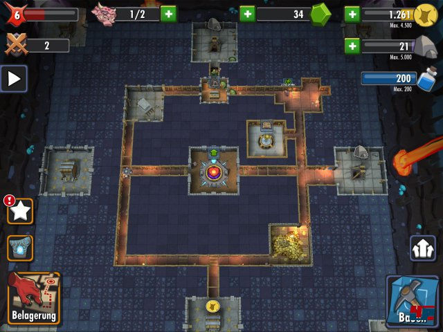 Screenshot - Dungeon Keeper (iPad) 92476584