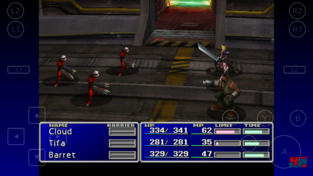 Screenshot - Final Fantasy 7 (iPad)