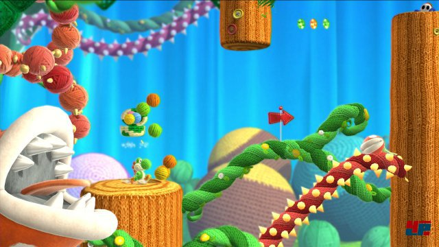 Screenshot - Yoshi's Woolly World (Wii_U) 92507626