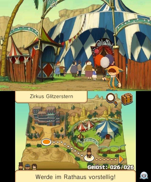 Screenshot - Professor Layton und die Maske der Wunder (3DS)