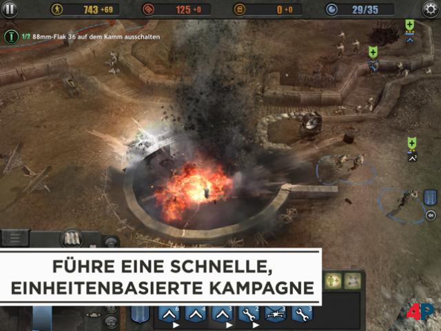 Screenshot - Company of Heroes (iPad)