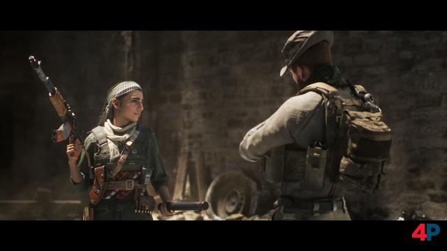 Die Kämpferin Farah ist die eigentliche Hauptfigur von Call of Duty: Modern Warfare. Schön, dass sich die Serie endlich mal traut, eine Frau ins Zentrum zu rücken.