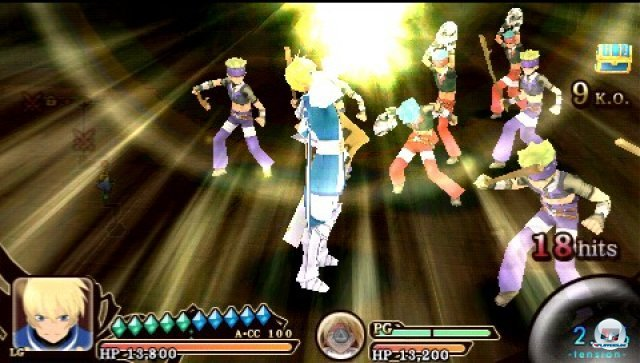 Screenshot - Tales of the Heroes: Twin Brave (PSP) 2315192