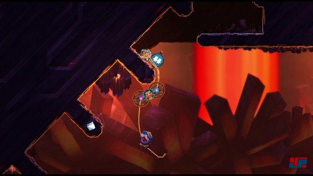Manche Ecken lassen sich nur zu zweit erreichen - ähnlich wie bei LittleBigPlanet 3.