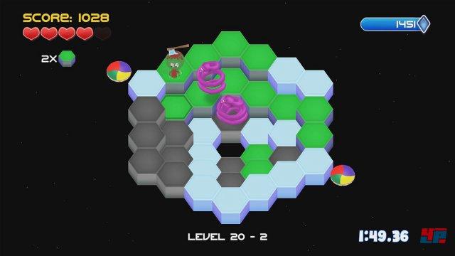 Screenshot - Q-Bert Rebooted (PC) 92520317