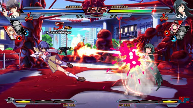 Screenshot - Nitroplus Blasterz: Heroines Infinite Duel  (PlayStation3) 92506824