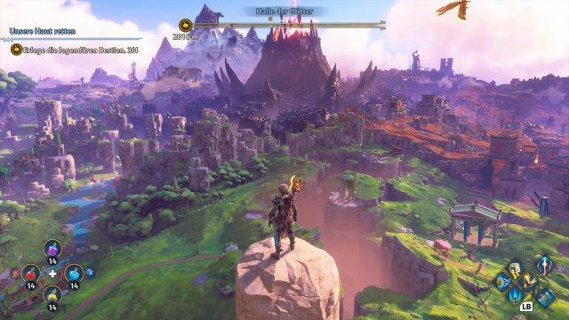 Sieht das nicht geil aus? Diese Spielwelt lädt zum Erkunden ein - und ist natürlich komplett begehbar.