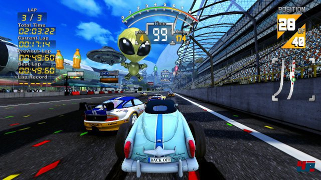 Screenshot - The 90's Arcade Racer (PC) 92549523