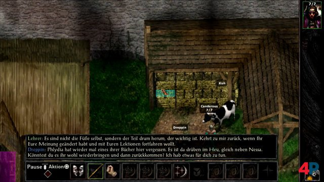 Screenshot - Baldur's Gate and Baldur's Gate 2 Enhanced Editions (PS4) 92598253