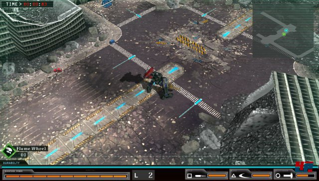 Screenshot - Damascus Gear: Operation Tokyo (PS_Vita)