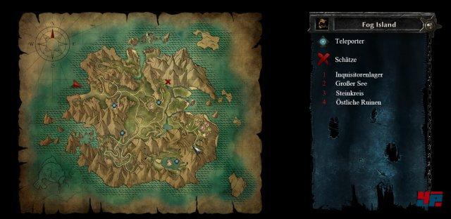 Karte: Nebelinsel