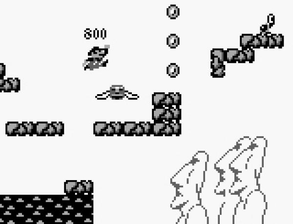 Super Mario Land (1989)<br><br>1989 revolutionierte Nintendo mit Gunpei Yokois Geniestreich Game Boy die Videospielewelt für immer - und dass dieser Handheld ein gigantischer Erfolg wurde, lag nicht zuletzt auch an der geschickten Wahl der Starttitel: Denn neben dem Software-Nikotin Tetris, das jedem Game Boy beilag, gab es von Tag Eins an auch Super Mario Land zu kaufen - Marios erster Handheld-Auftritt, und ganz nebenbei ein superb designtes Jump-n-Run. Das entsprang zwar nicht den Händen von Miyamoto, sondern Yokoi höchstselbst, folgt aber dennoch den Grundprinzipien von SMB, auch wenn nicht Bowser der Endgegner war. Übrigens konnte man das Game nach jedem Durchspielen von vorne starten, mit jeweils erhöhtem Schwierigkeitsgrad - mein persönlicher Rekord lag an einem lauen Nachmittag bei siebenmaligem Durchspielen, danach gaben die Batterien meines Game Boys den Geist auf... 1724679