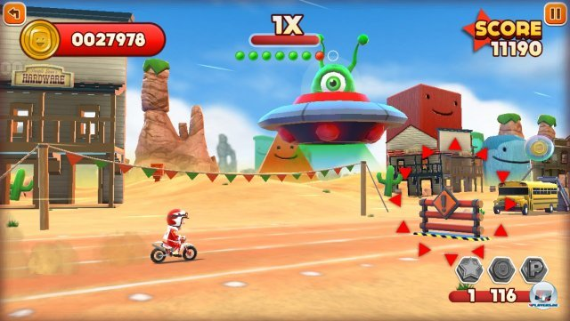 Screenshot - Joe Danger Touch (iPhone) 92439402