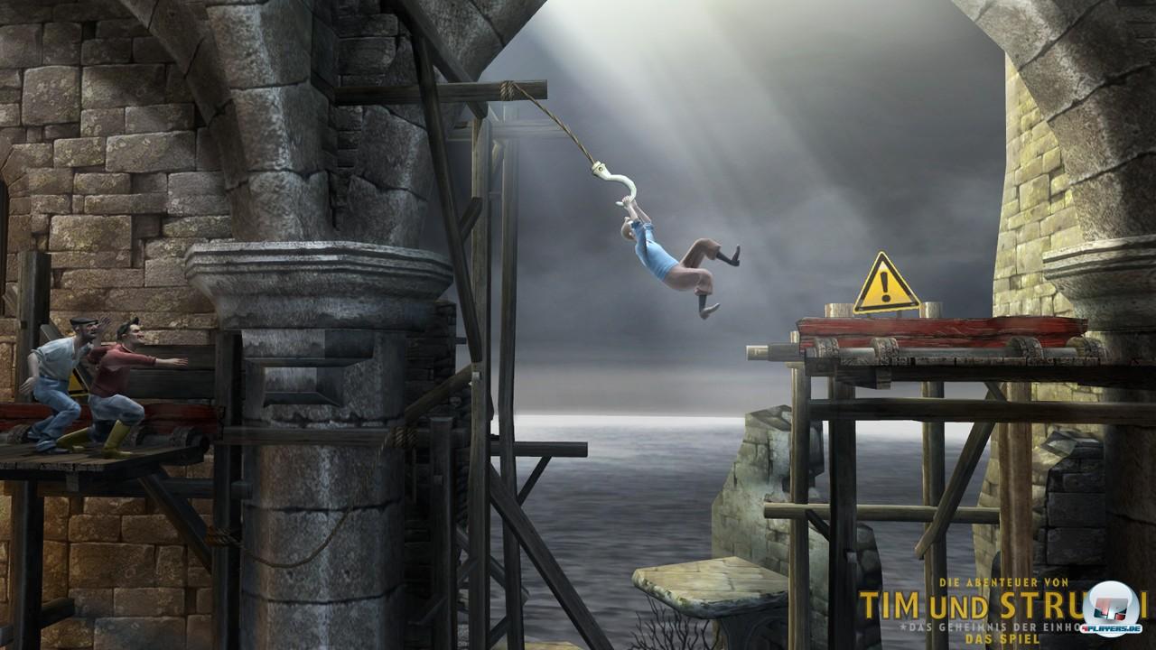 Die meisten Spielabschnitte präsentieren sich als klassische Plattform-Action in 2D.