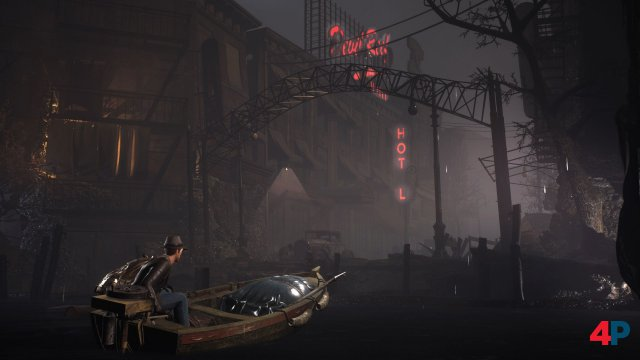 Screenshot - The Sinking City (Switch)