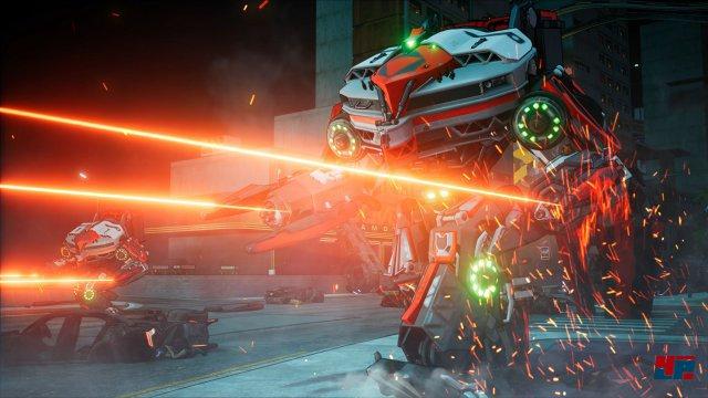 Endlich Spielszenen, endlich Laser, endlich Crackdown 3!