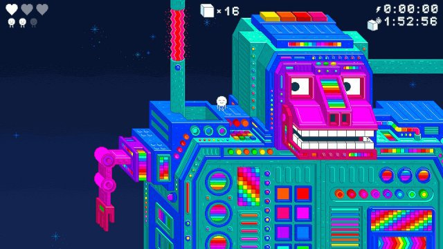 Sieht das nicht großartig aus? Spinch mischt Pixel mit psychedelischen Motiven und tierischen Kreaturen.