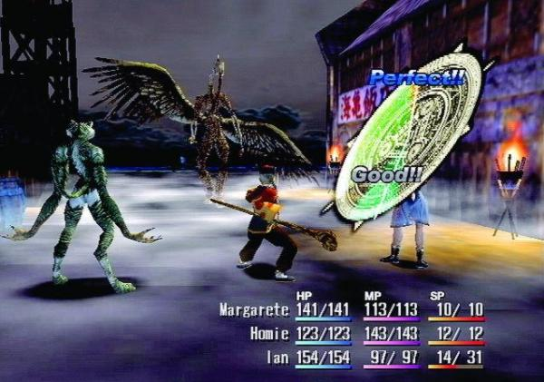 Shadow Hearts (PS2 2001)<br><br>2001 hatte das japanische Entwicklerstudio Sacnoth eine interessante Idee: In ein recht klassisches Rollenspielgerüst integrierte man eine Art Glücksrad-System, das in erster Linie bei Kämpfen zum Einsatz kam und sich auf Anzahl und Stärke der Treffer auswirkte. Das Ganze hörte auf den Namen Shadow Hearts und entsprang indirekt dem hauseigenen Survival-Horror-RPG Koudelka. In zwei Fortsetzungen wurde das System noch erweitert und auch abseits der rundenbasierten Kämpfe, in denen sich Protagonist Yuri in verschiedene Dämonen verwandeln konnte, in die Spielmechanik integriert. 1720281