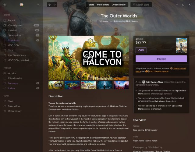 Screenshot - GOG.com (PC)