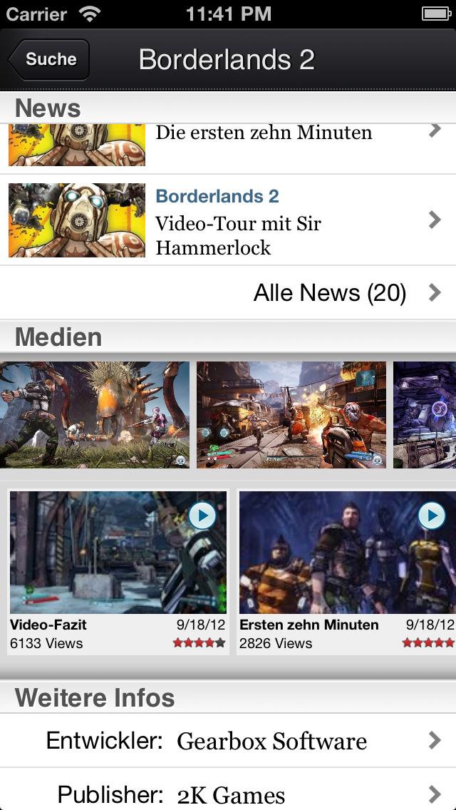 Screenshot - 4Players-App (iPhone) 92430102