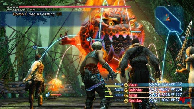Die Kämpfe bieten bei Benutzung des Gambit-Systems nicht nur enorme taktische Möglichkeiten, sondern hinterlassen auch visuell einen guten Eindruck.