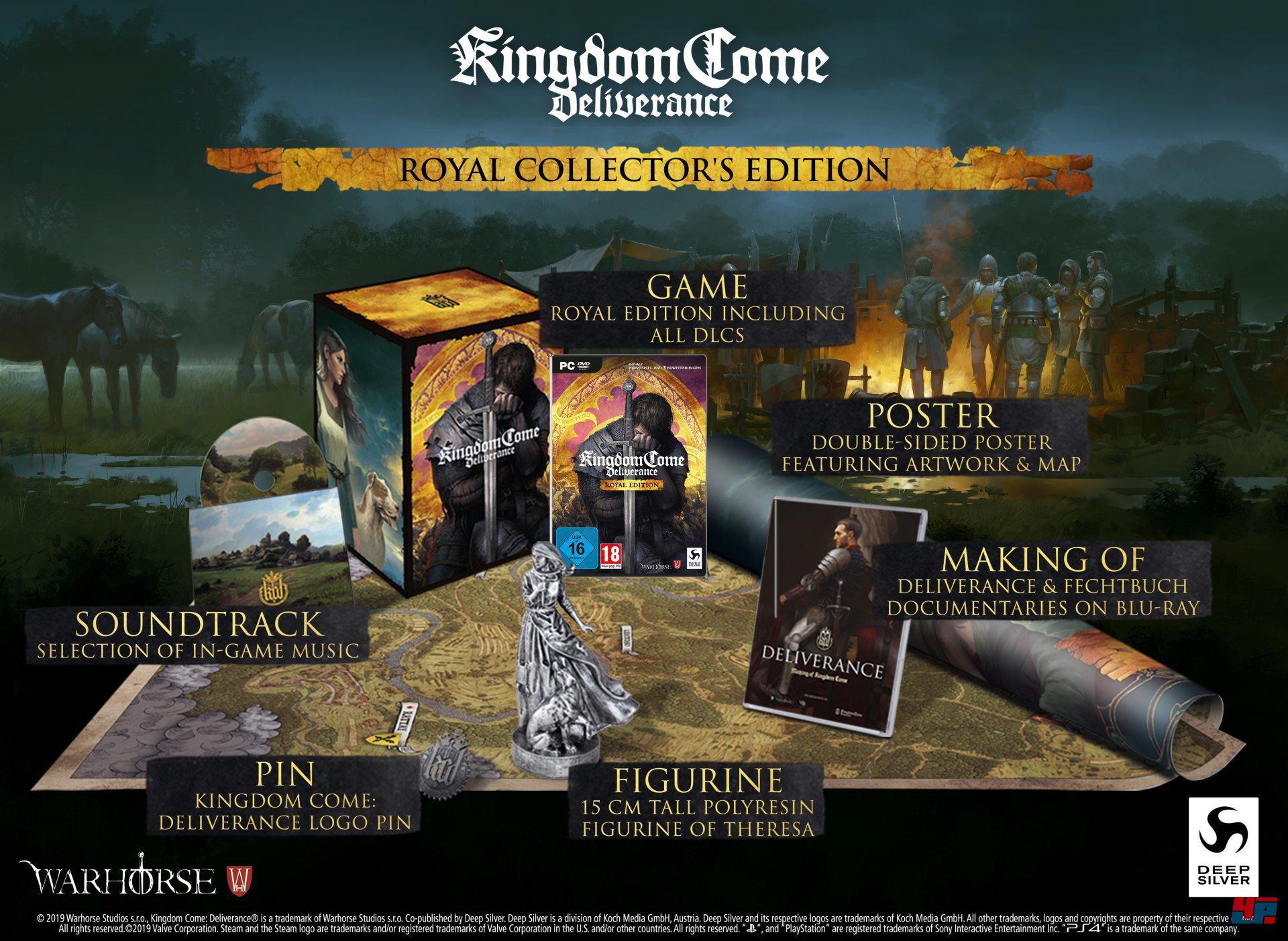 kingdom come special edition rüstung