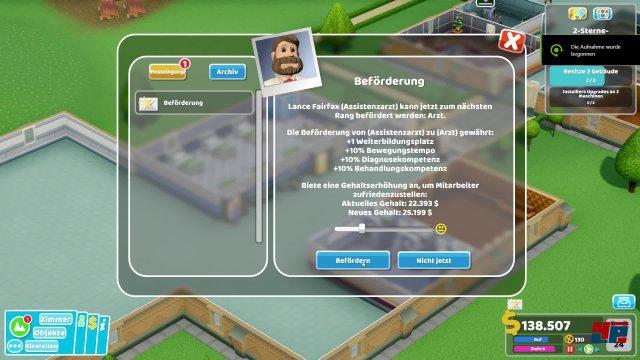 Screenshot - Two Point Hospital (PC) 92573115