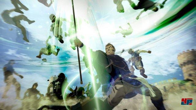 Massenschlachten mit aufwändigen Spezialattacken: Im Kern setzt auch Arslan auf die Elemente, die Omega Force seit Dynasty Warriors 2 populär gemacht hat.