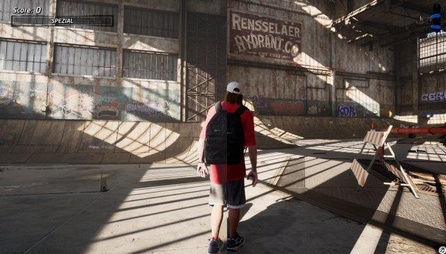 Sattere Farben, kräftigere Farben, bessere Schattenwürfe - das Level Lagerhalle sieht auf PS5 (rechte Bildhälfte) schon ein Stückchen besser aus als auf PS4 (linke Bildhälfte).