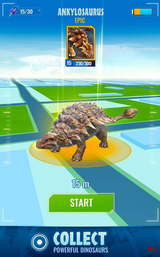 Screenshot - Jurassic World Alive (Android)
