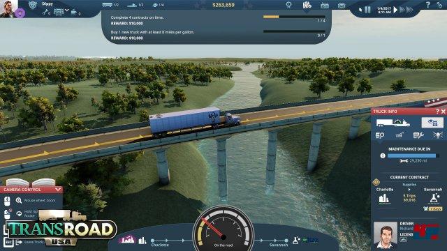 Screenshot - TransRoad: USA (Mac) 92553998