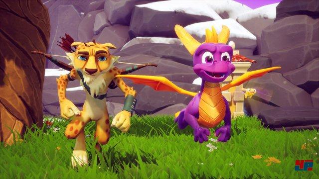 Mit Hilfe der Unreal-Engine hat das Team von Toys for Bob Spyro und seine Freunde visuell auf einen aktuellen Stand gebracht.