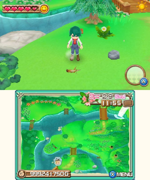 Screenshot - Harvest Moon 3D: A New Beginning (3DS) 92469853