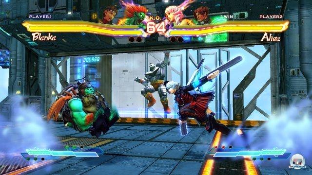 Screenshot - Street Fighter X Tekken (PS_Vita)
