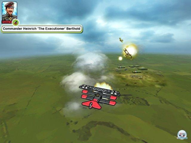 Über den Wolken muss die taktische Freiheit grenzenlos sein: Sid Meier inszeniert rundenbasierte Gefechte im Ersten Weltkrieg.