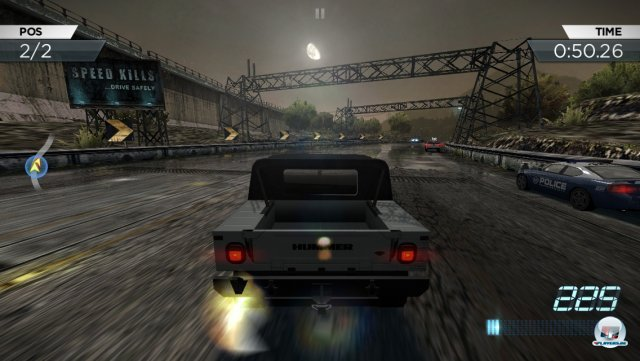 Screenshot - Need for Speed: Most Wanted (iPhone) 92418297