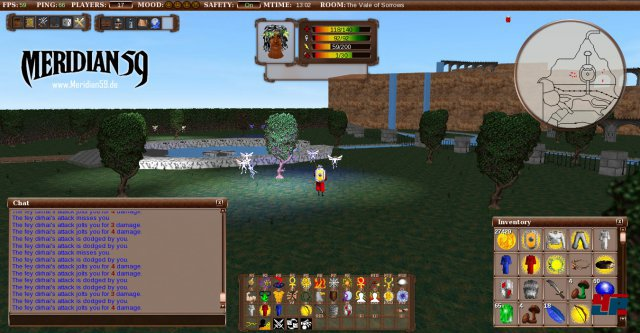 Screenshot - Meridian 59 (PC)