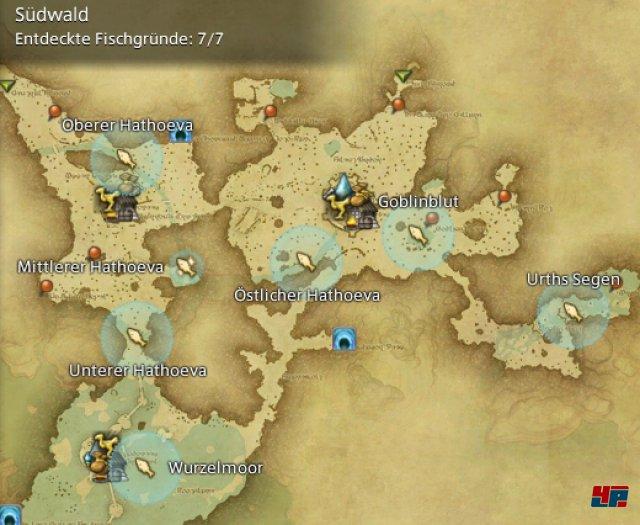 Final Fantasy XIV Online: A Realm Reborn - Fischgründe: Finsterwald, Südwald