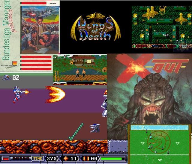 Made in Germany <br><br>  Vor allem aus Deutschland wurde der Amiga mit reichlich Qualitäts-Software unterstützt: Man erinnere sich alleine an das Portfolio von Rainbow Arts, das mit Titeln wie Turrican, X- und Z-Out sowie M.U.D.S. zeigte, was man aus dem Amiga herausholen kann - und das alles gewürzt mit hinreißenden Hülsbeck-Klängen. Der ließ ebenfalls mit seinem Spiele-Label Kaiko aufhorchen, das Amiga-Fans die Bienen-Ballerei Apidya beschert und die heiß erwartete Umsetzung von Mega Turrican in Form von Turrican 3 ermöglicht hat. Zu weiteren Highlights aus deutschen Landen zählen außerdem der Bundesliga Manager Professional von Software 2000 sowie das Lineup von Thalion, zu dem u.a. Chambers of Shaolin, die Motorrad-Sim No Second Prize, Wings of Death sowie das Rollenspiel Ambermoon gehören.  2133068