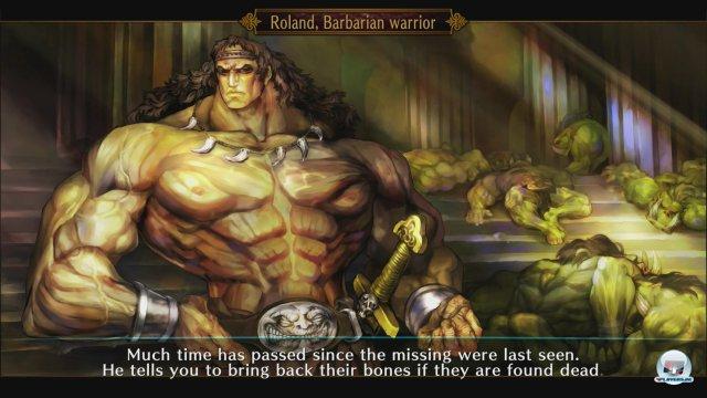 Beinahe wie Conan... Natürlich bedient sich Vanillaware auch bei einschlägigen Fantasy-Klischees.