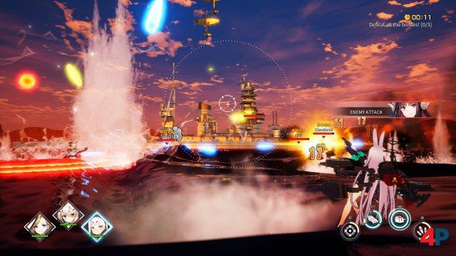 Screenshot - Azur Lane: Crosswave (PC)