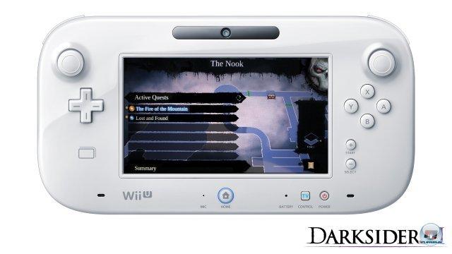Der Touchscreen kann optional für die Anzeige der Karte sowie die Inventar-Verwaltung genutzt werden.