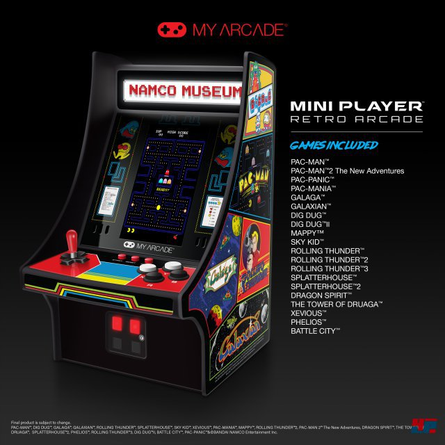 Screenshot - Namco Museum Mini Player (Spielkultur)