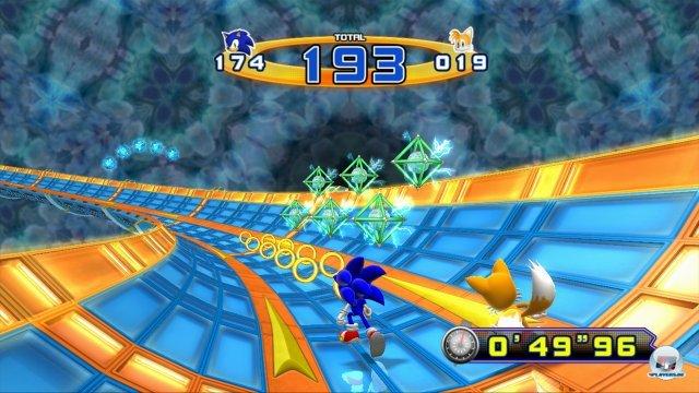 Im Großen und Ganzen ist das Spiel eine Hommage an Sonic 2 - wie man spätestens an den Bonusrunden sieht.