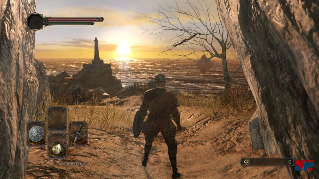 Auch wenn Dark Souls 2 auf dem Rechner etwas knackiger aussieht - an der grundsätzlichen Stimmung und Beleuchtung hat sich nichts geändert.